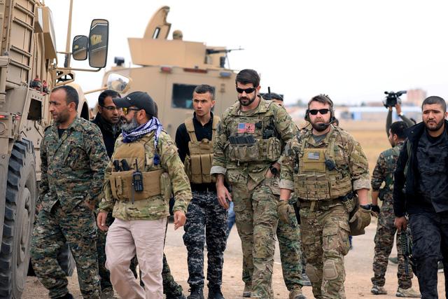 Tuyên bố chiến thắng trước IS, Mỹ rút quân khỏi Syria - Ảnh 2.