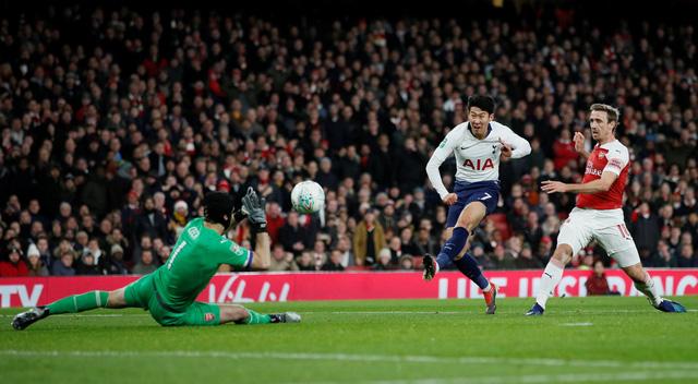 Tottenham và Chelsea vào bán kết Cup Liên đoàn Anh - Ảnh 1.