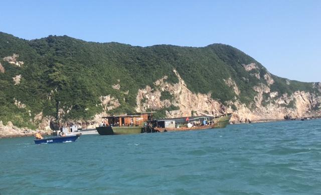 7 tàu Trung Quốc bị Cảnh sát biển giữ, doanh nghiệp kêu cứu - Ảnh 2.