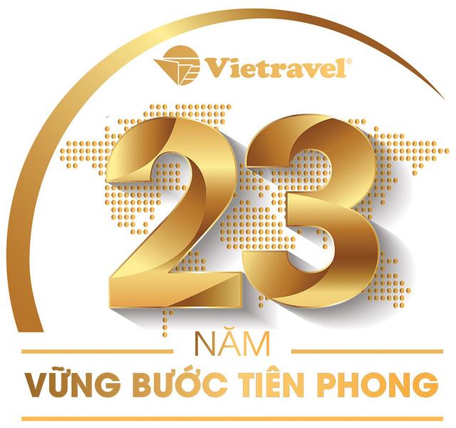Vietravel -  23 năm vững bước tiên phong - Ảnh 1.
