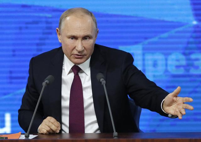 Bị hỏi khó chuyện hôn nhân, ông Putin vui vẻ trả lời - Ảnh 1.