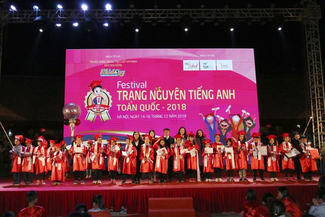Đông đảo trẻ em tham gia Festival Trạng Nguyên Tiếng Anh - Ảnh 1.