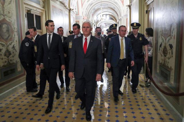 Chính phủ Mỹ vẫn đóng cửa dù phó tổng thống can thiệp - Ảnh 1.