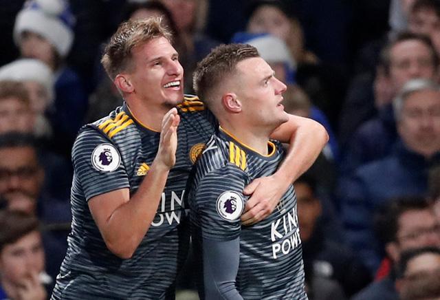 Vardy 'nổ súng', Leicester hạ gục Chelsea tại Stamford Bridge - Ảnh 2.