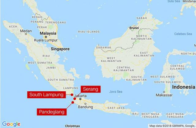 Sóng thần do núi lửa phun ở Indonesia, 43 người thiệt mạng - Ảnh 3.