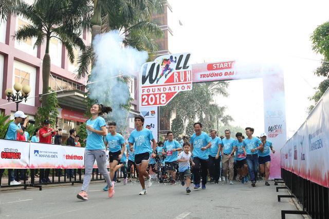 2.000 sinh viên tham gia đường chạy nghị lực - Ảnh 6.