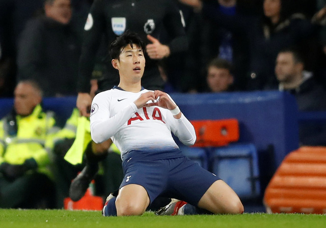 Kane và Son lập cú đúp, Tottenham ngược dòng hạ Everton 6-2 - Ảnh 1.