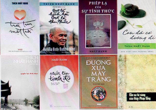 Triển lãm sách và thư pháp của thiền sư Thích Nhất Hạnh tại Thái Lan - Ảnh 2.