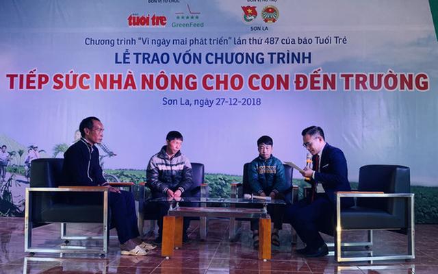Trao vốn Tiếp sức nhà nông cho con đến trường tại Sơn La - Ảnh 2.
