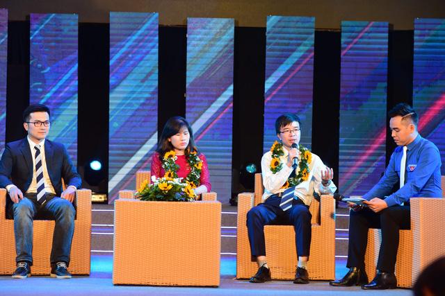 Trao quả cầu vàng cho 10 tài năng trẻ khoa học công nghệ - Ảnh 1.
