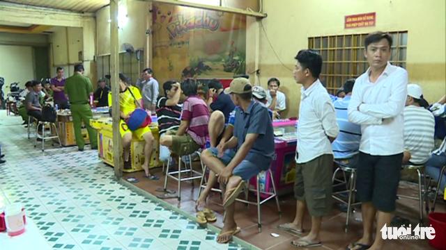 Phá điểm game bắn cá lớn ở Tiền Giang - Ảnh 1.