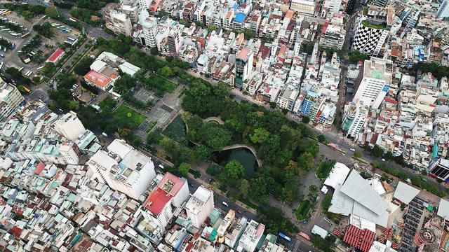 Thi tuyển ý tưởng thiết kế 1/500 khu vực công viên 23-9 giữa TP.HCM - Ảnh 1.