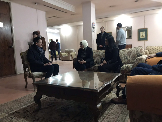 Hình ảnh từ bệnh viện Ai Cập đang chăm sóc các nạn nhân người Việt - Ảnh 3.