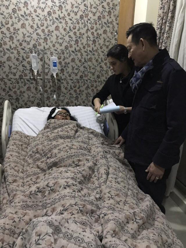 Hình ảnh từ bệnh viện Ai Cập đang chăm sóc các nạn nhân người Việt - Ảnh 1.