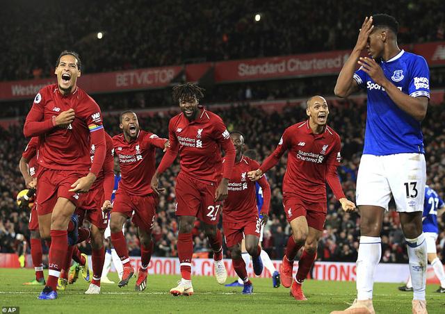 'Siêu dự bị' Origi giúp Liverpool hạ Everton ở phút 90+6 - Ảnh 3.