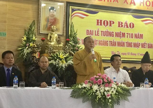Đại lễ tưởng niệm 710 năm Phật hoàng Trần Nhân Tông nhập niết bàn - Ảnh 1.