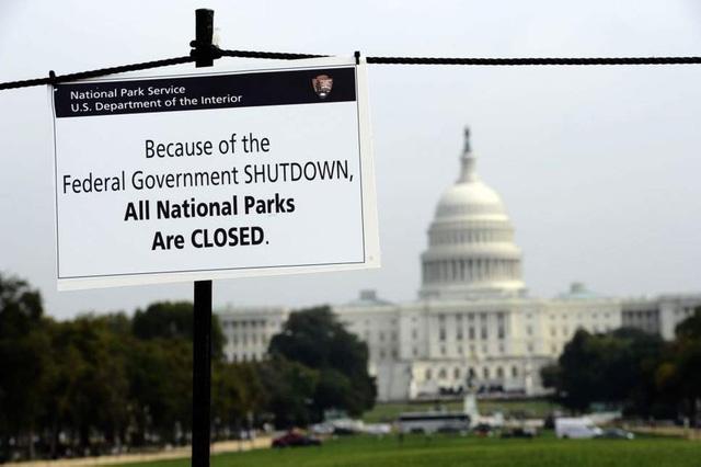 Chính phủ Mỹ đối diện với nguy cơ 'đóng cửa một phần' - Ảnh 1.