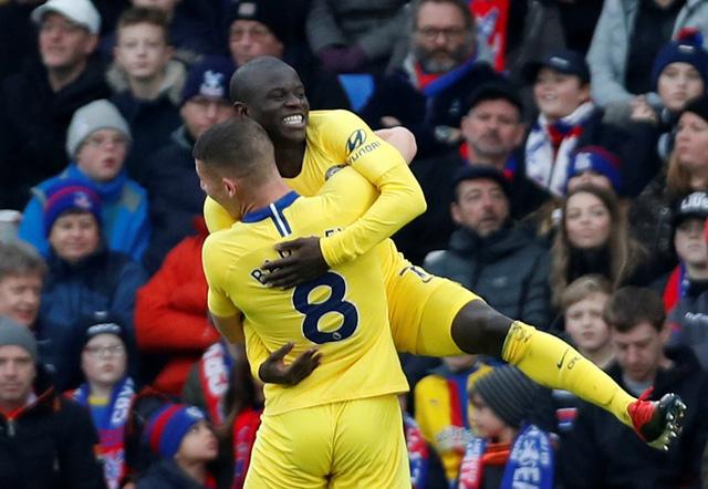 Kante tỏa sáng, Chelsea thắng chật vật Crystal Palace - Ảnh 1.