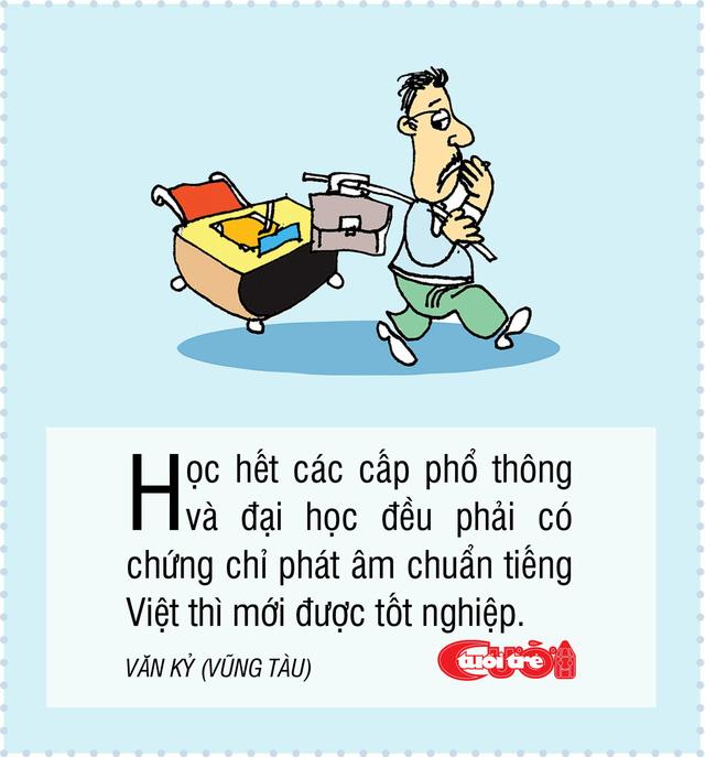 10 biện pháp vui giải quyết chuyện người Việt nói ngọng - Ảnh 1.
