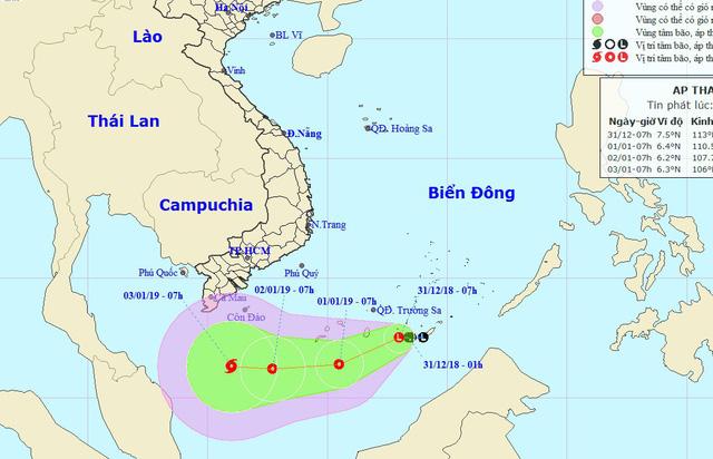 Biển Đông xuất hiện áp thấp mới, khả năng mạnh thành bão - Ảnh 1.