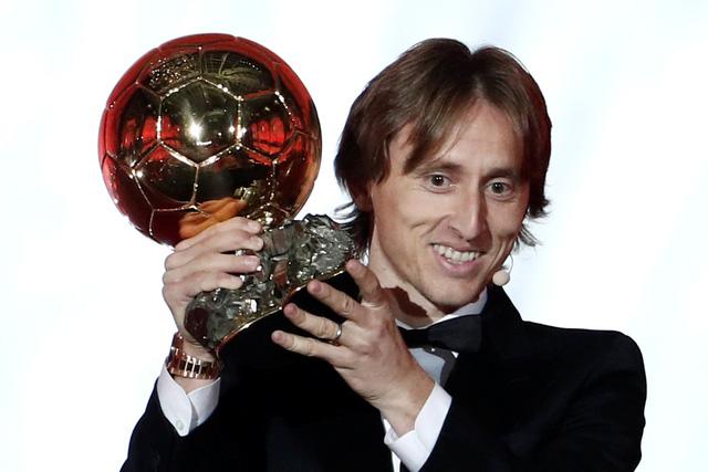 Vượt Ronaldo, Modric đoạt Quả bóng vàng 2018 - Ảnh 1.