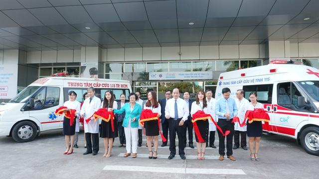 Trạm cấp cứu vệ tinh thứ 26 của TP.HCM là Bệnh viện Quốc tế City - Ảnh 1.