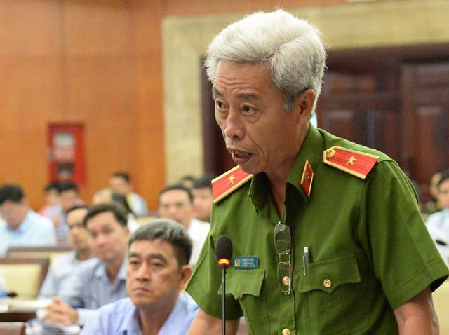 Thiếu tướng Phan Anh Minh: Chất bẩn tạt nhà con nợ thối hơn mùi tử thi - Ảnh 1.