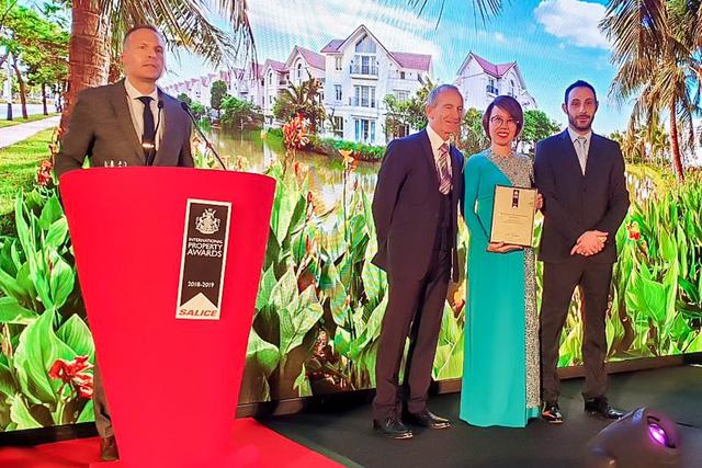 """Vinhomes Riverside đạt giải """"Bất động sản tốt nhất thế giới"""" năm 2018 - Ảnh 1."""