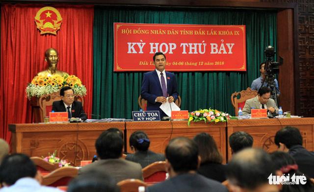 Phó bí thư Y Biêr Niê có phiếu tín nhiệm cao nhất tại Đắk Lắk - Ảnh 1.