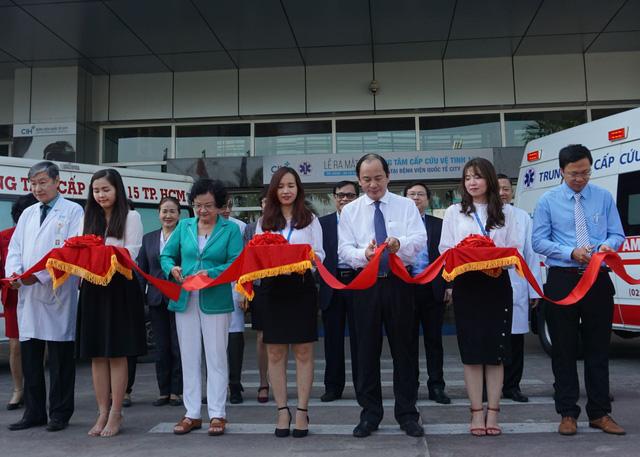TP Hồ Chí Minh có thêm một trạm vệ tinh Cấp cứu 115 - Ảnh 1.