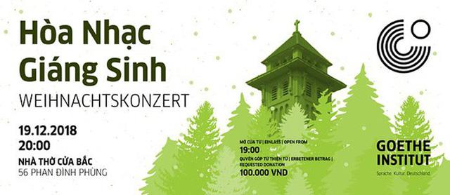Hòa nhạc Giáng sinh tại Hà Nội - Ảnh 1.