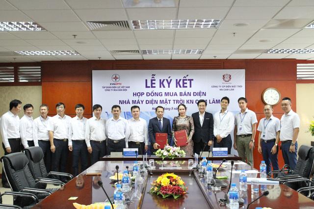 EVN ký kết hợp đồng mua bán điện với Công ty Cam Lam Solar - Ảnh 2.