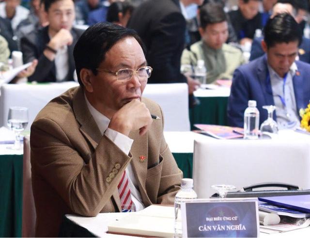 Ông Cấn Văn Nghĩa bất ngờ giành chức Phó chủ tịch tài chính VFF - Ảnh 3.