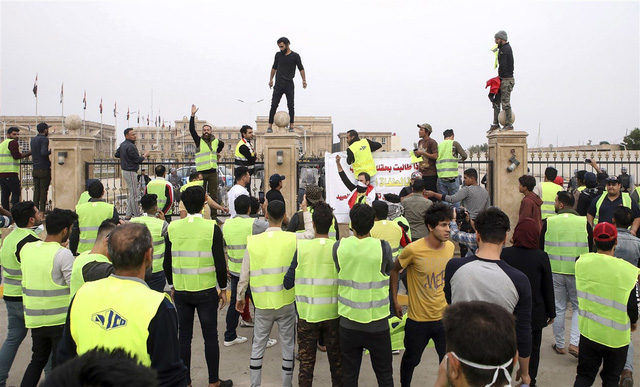 Ở Iraq, châu Phi cũng có biểu tình áo vàng - Ảnh 5.