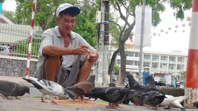 Người nuôi chim trời giữa lòng  thành phố - Ảnh 1.
