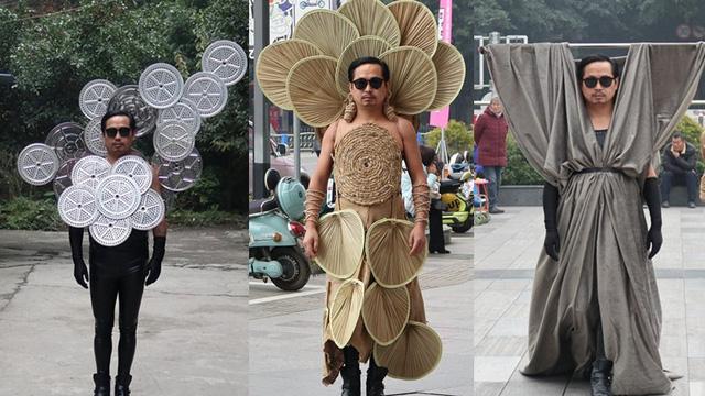Anh nông dân thiết kế trang phục độc kiếm tiền chữa ung thư cho cha - Ảnh 1.