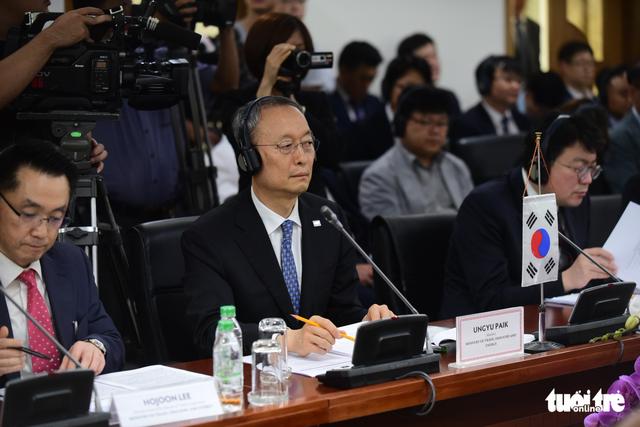 Việt - Hàn lập đầu mối xử lý khó khăn cho doanh nghiệp - Ảnh 4.