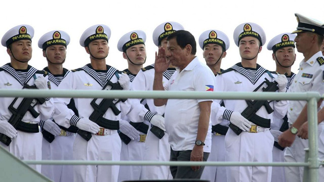 Philippines tuyên bố sẽ xung đột nếu các nước khác lấy tài nguyên biển - Ảnh 1.