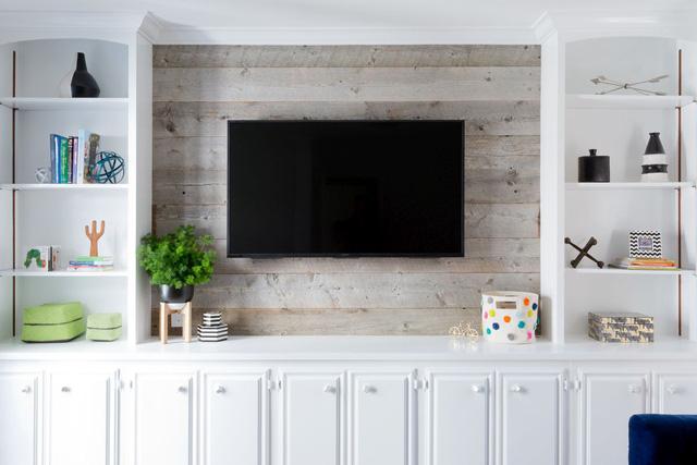 10 kiểu trang trí tivi để phòng khách đẹp hơn - Ảnh 9.
