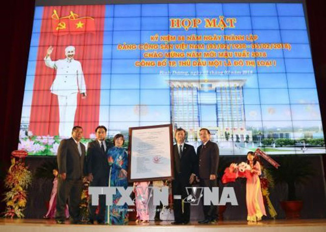 Thủ Dầu Một là đô thị loại 1 trực thuộc tỉnh Bình Dương - Ảnh 1.