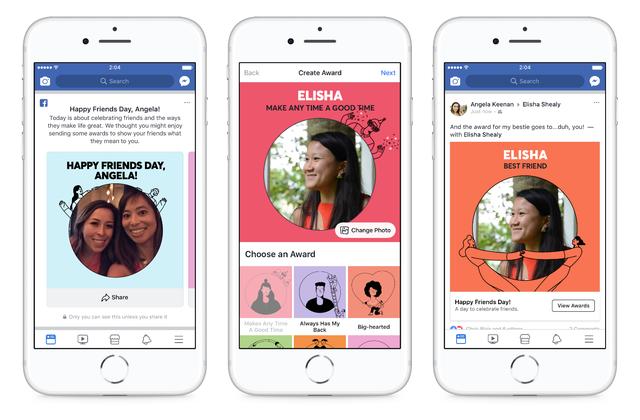 Facebook ra mắt tính năng tôn vinh bạn bè - Ảnh 1.