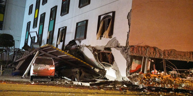 Động đất rung chuyển Đài Loan, 2 người chết, 200 người bị thương - Ảnh 5.