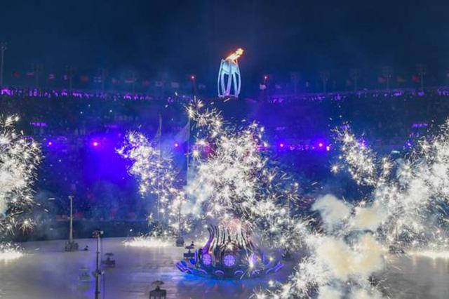 Lễ khai mạc Olympic mùa đông Pyeongchang rực rỡ và hiện đại - Ảnh 5.