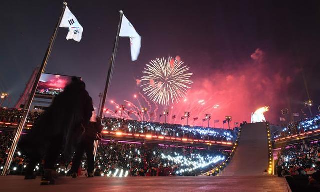 Lễ khai mạc Olympic mùa đông Pyeongchang rực rỡ và hiện đại - Ảnh 2.