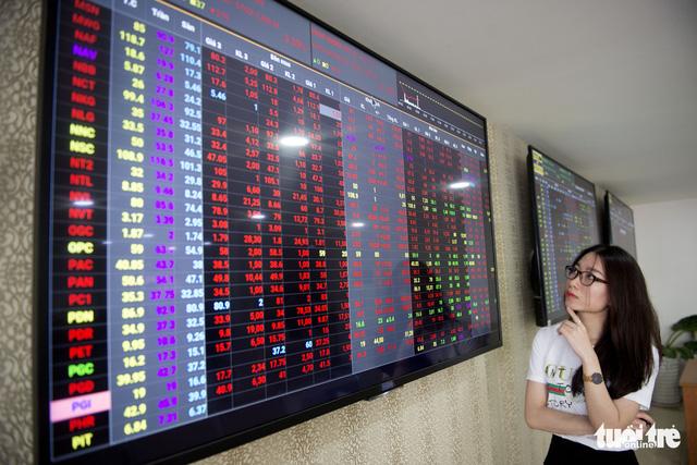 Thị trường chứng khoán lại chao đảo, Vn Index mất 40 điểm - Ảnh 2.