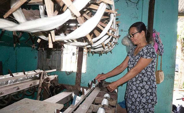 Làng dệt lụa Mã Châu hồi sinh - Ảnh 3.