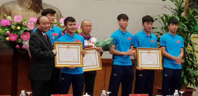 Thủ tướng trao huân chương cho thầy trò U23 Việt Nam - Ảnh 5.