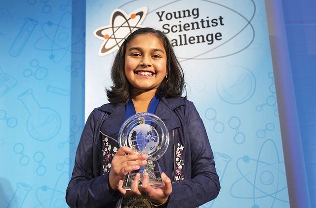 Nhà phát minh 12 tuổi thắng giải 25.000 đô la - Ảnh 1.