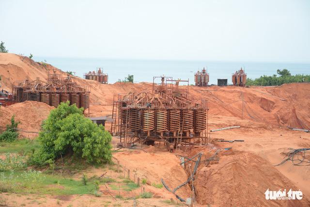 Bình Thuận tiếp tục kêu cứu về quy hoạch titan - Ảnh 2.