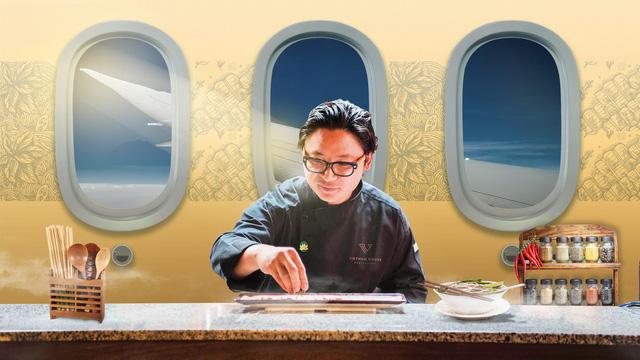Luke Nguyễn - đại sứ ẩm thực của Vietnam Airlines - Ảnh 1.